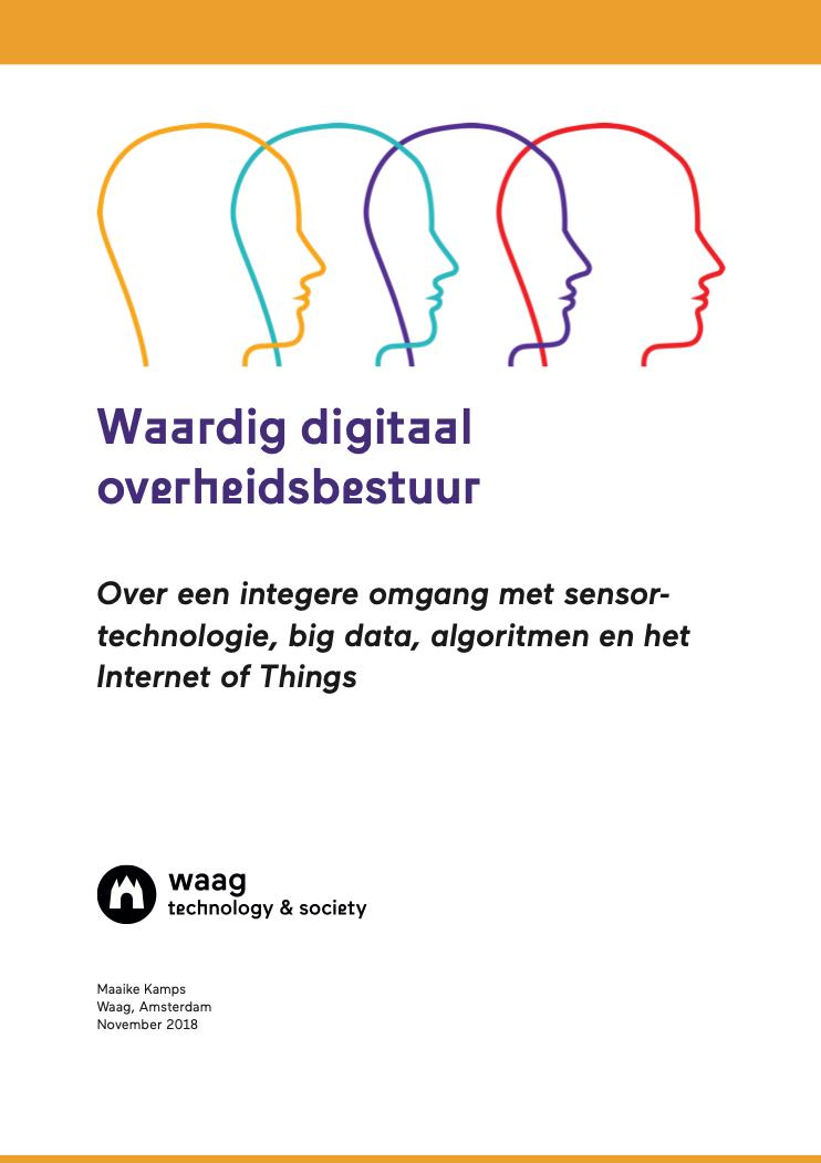 Cover Waardig digitaal overheidsbestuur